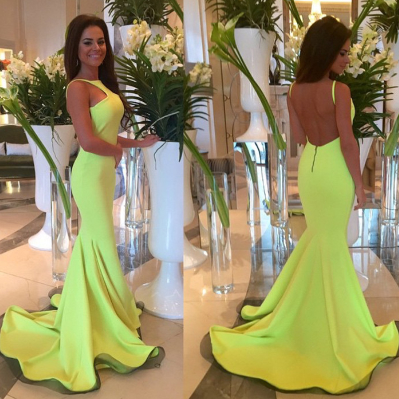 Mermaid Prom Dresses,Open Back Evening Dresses,Long Prom Dresses ...